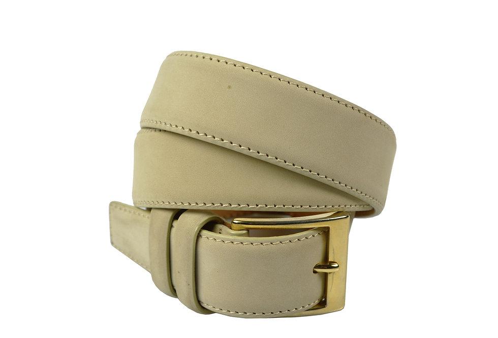 Cintura in camoscio impunturata