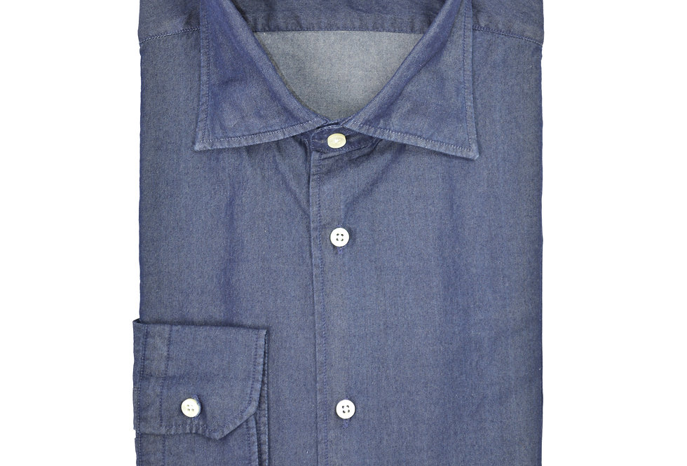 Camicia jeans peso 195 gr