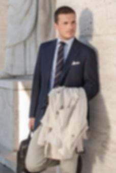 Collezione uomo Sergio Nesci Giacce lusso manager