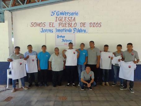 Sendero Juvenile Detention Center Boys Celebrate Five Years of Church Services