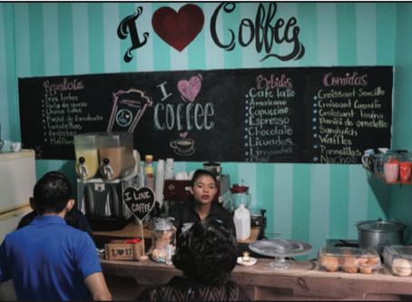 A Young Woman Overcomes Adversity to Open Coffee Shop