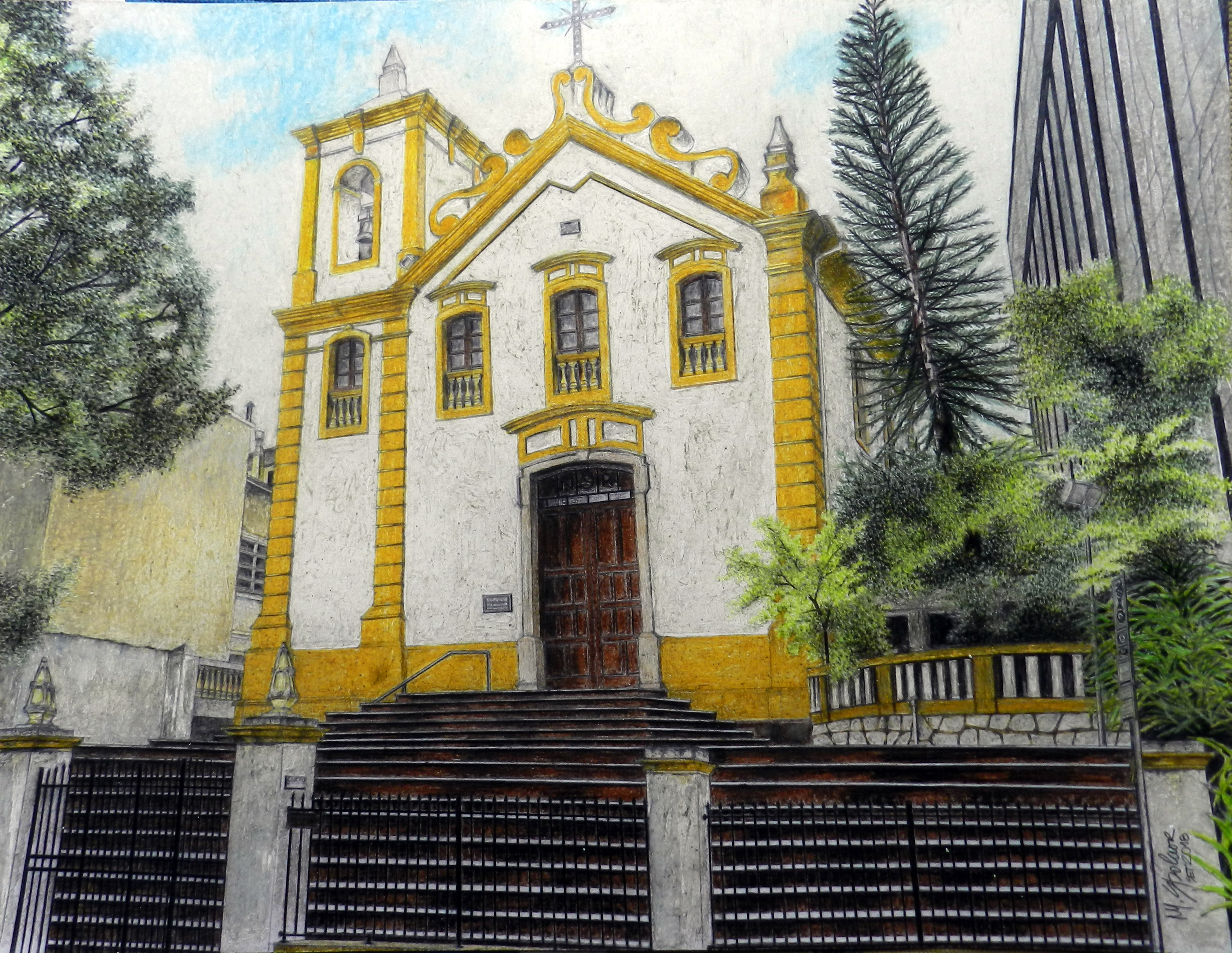 Igreja do Rosário - Florianópolis I