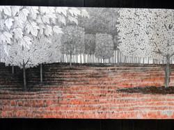 Paisagem I - Árvores geométricas