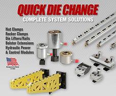 die handling PFA Quick Die Change Systems