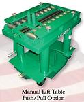 Die Handling LEXCO, PRESTO, HANSFORD Tables, Lifts, Stackers, Handlers, Carts  