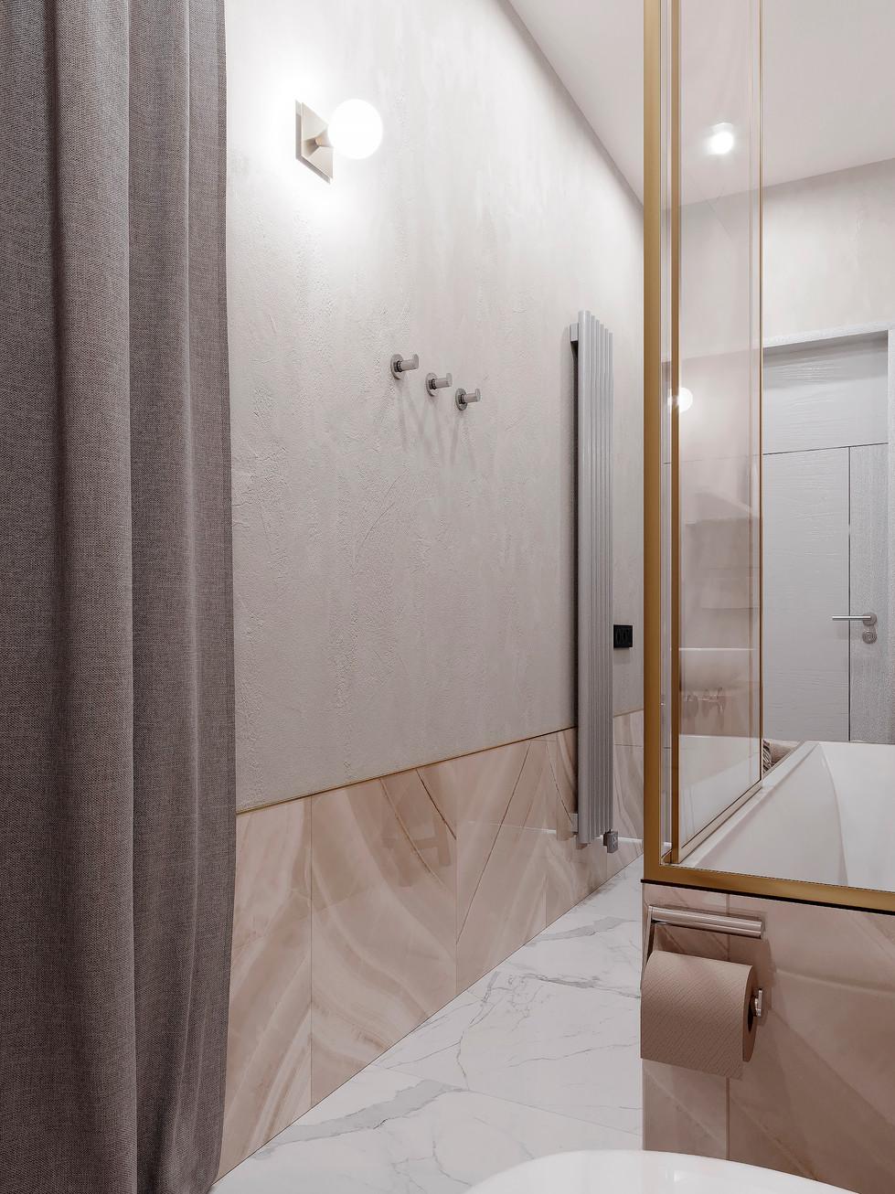 ЖК Дискавери ванная