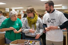 Sorting Volunteers