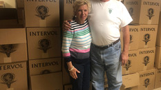 Volunteers of InterVol: Gary and Ann Ras