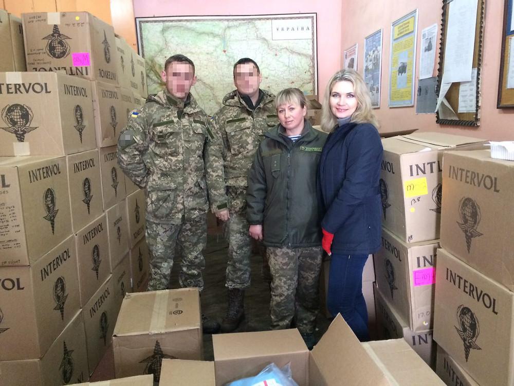 Distributing Supplies in Ukraine