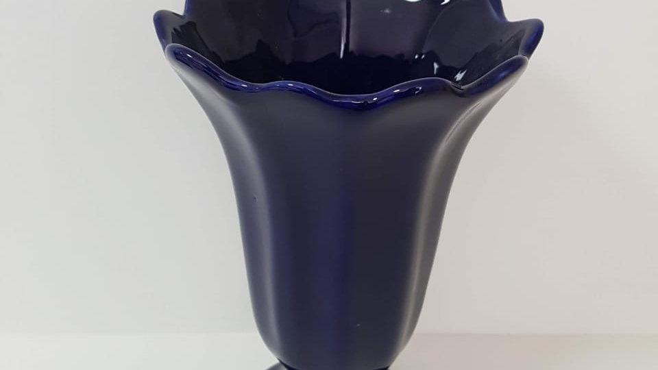 Vaso Canelado Azul Bic