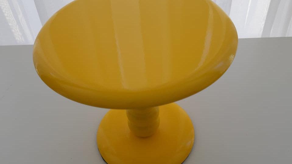 Boleira laqueada amarelo P