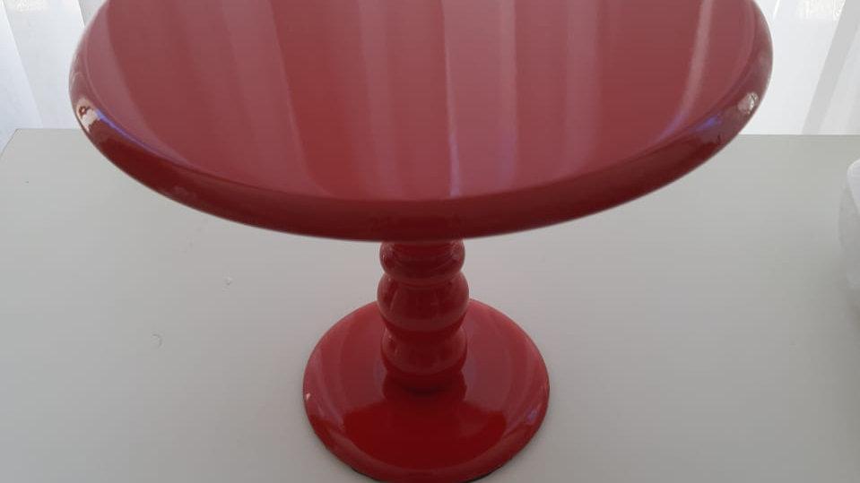Boleira laqueada vermelha M
