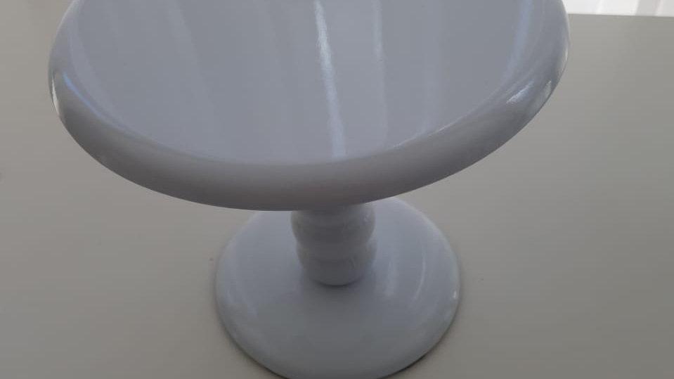 Boleira laqueada branca P