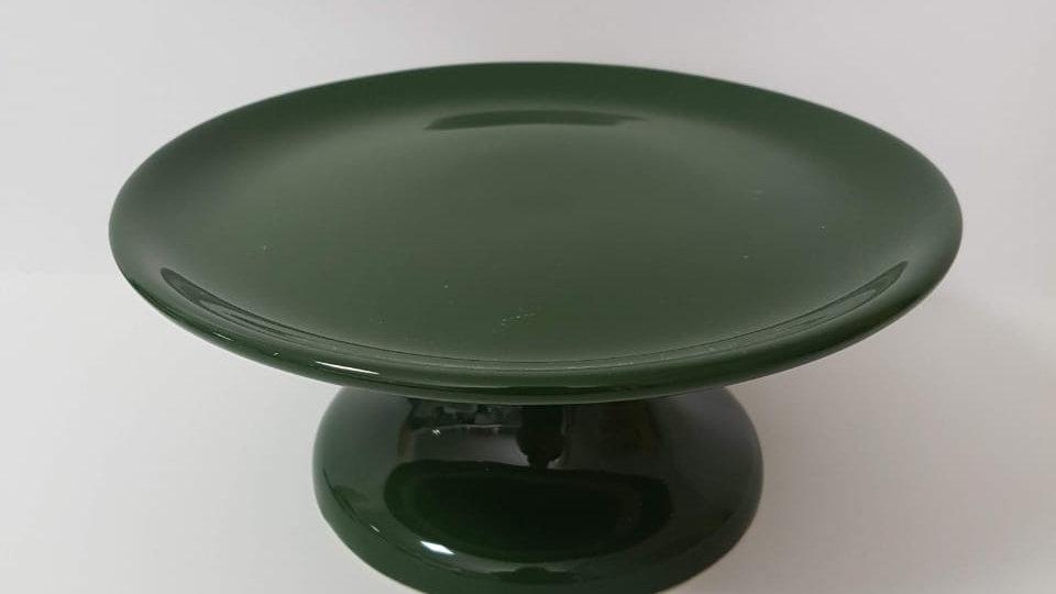 Boleira P Decorativa Verde Folha