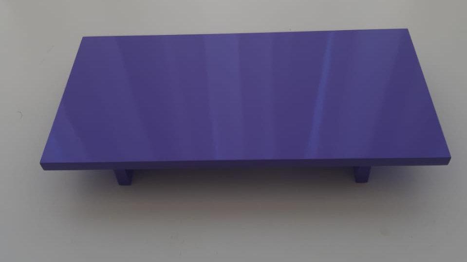 Bandeja laqueada lilás