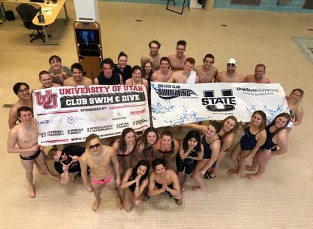 Utah Club Swim and Dive dominates at USU Invitational