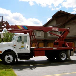 Sunshine Painting boom truck