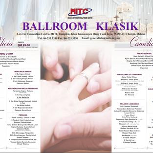 MITC BALLROOM KLASIK WEDDING PACKAGE