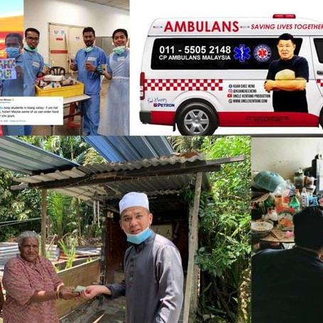 Inilah Bukti bahawa Rakyat Malaysia Membantu Tanpa Kenal Warna Kulit