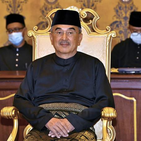 Tahniah! Tun Mohd Ali Rustam Menerima Sumpah sebagai Yang di-Pertua Negeri Melaka yang ke-7.