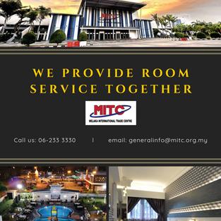 WE PROVIDE ROOM SERVICE TOGETHER!