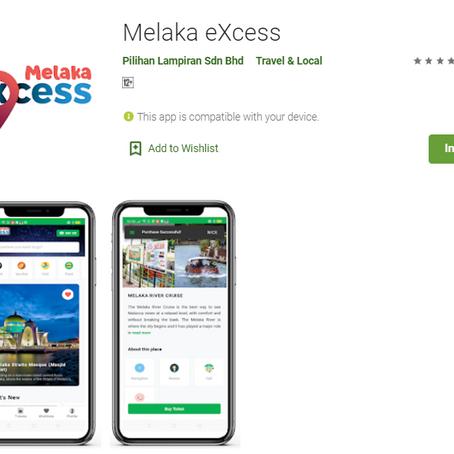 Kerajaan Negeri Melaka Promosi Pelancongan melalui Aplikasi 'Melaka eXcess'