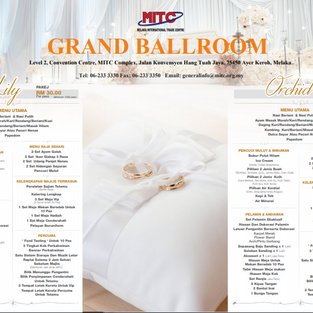 MITC GRAND BALLROOM WEDDING PACKAGE