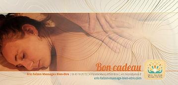 Bon cadeau Eric Falzon Massages Bien-Etr
