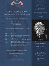 """""""Ferrat"""" à Fribourg le 09.11.19"""