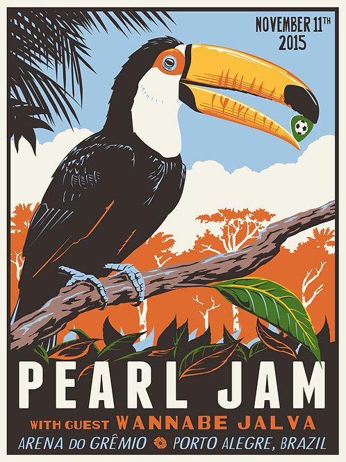 Pearl Jam concert in Brazil