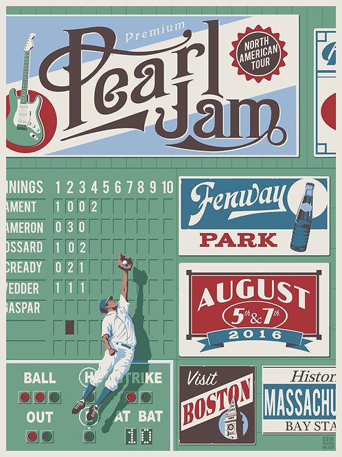 Pearl Jam Fenway