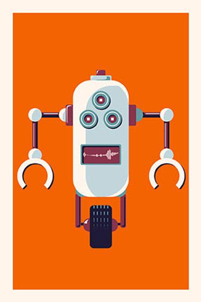 Robot II mini print
