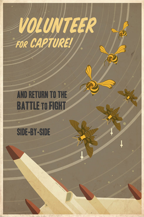 Volunteer for Capture!