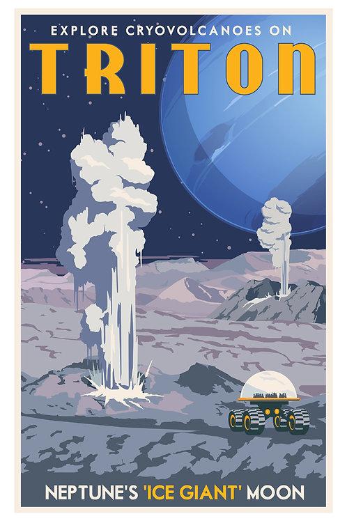 Tritan Gyser Poster
