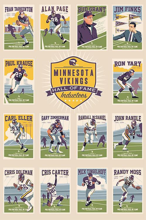 Minnesota Vikings Hall of Fame 2018