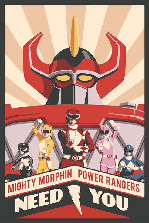 Mighty Morphin Power Rangers need you!