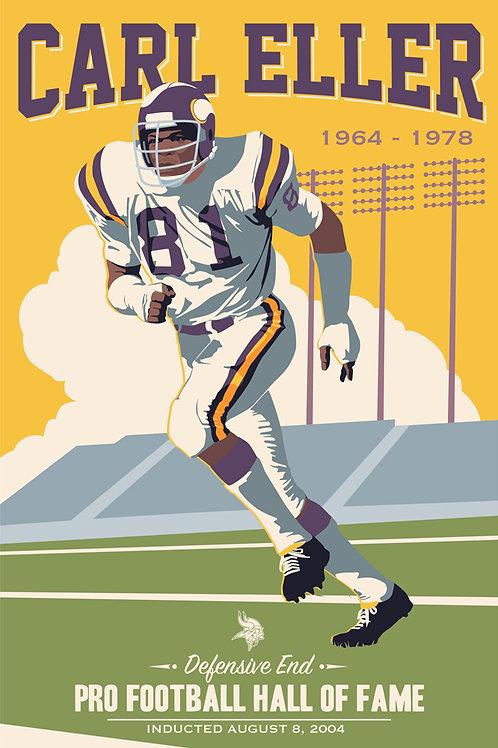 Minnesota Vikings HOF Carl Eller