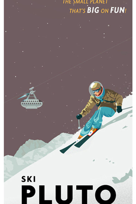 Pluto Travel Poster