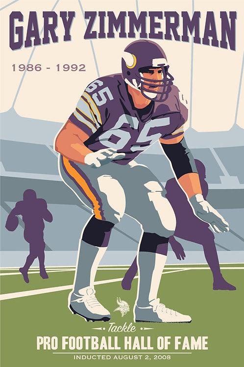 Minnesota Vikings HOF Gary Zimmerman