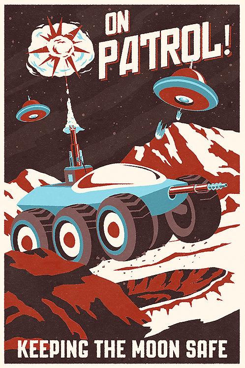 "Moon Patrol! ""matchbook"""
