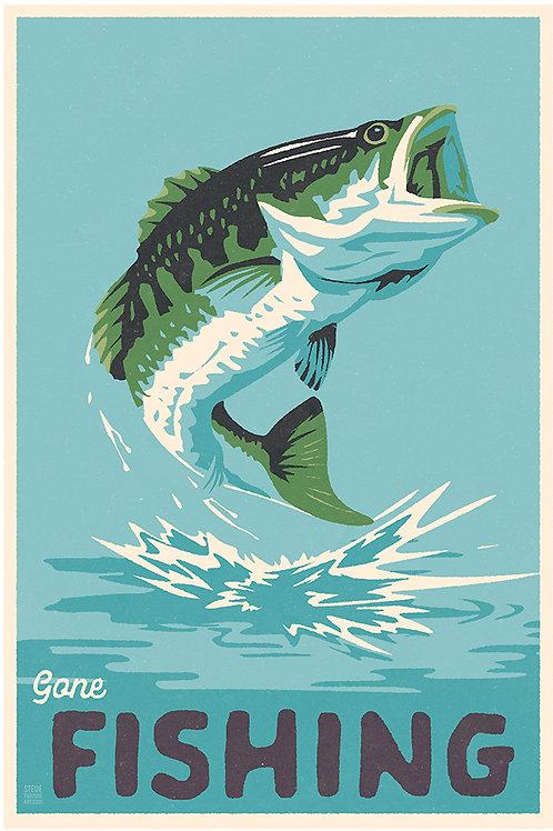 Bass fishing tall size