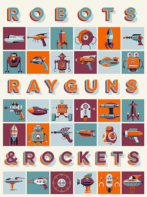 Robots, Rayguns & Rockets