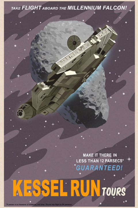 Kessel Run - Millennium Falcon