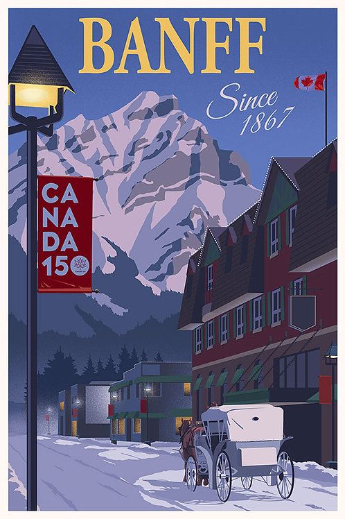 Canada at 150, Banff, Canada