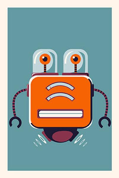 Robot IV mini print