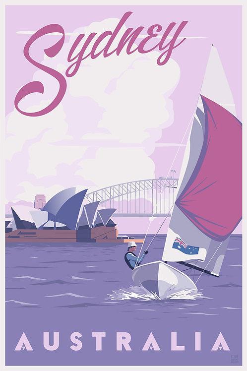 Sydney, Australia travel poster