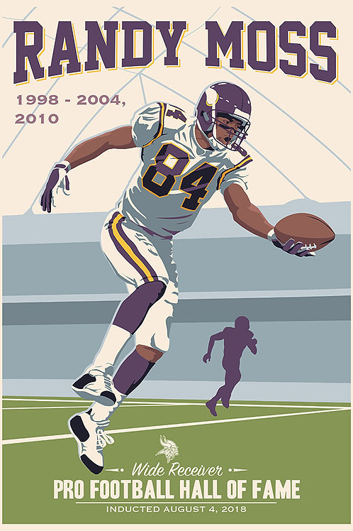 Minnesota Vikings HOF Randy Moss