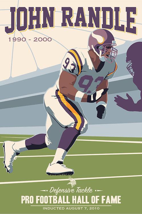 Minnesota Vikings HOF John Randle
