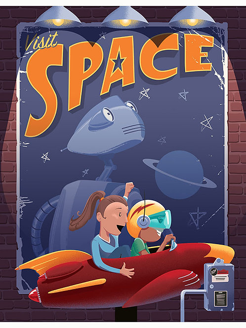 Visit Space signed book