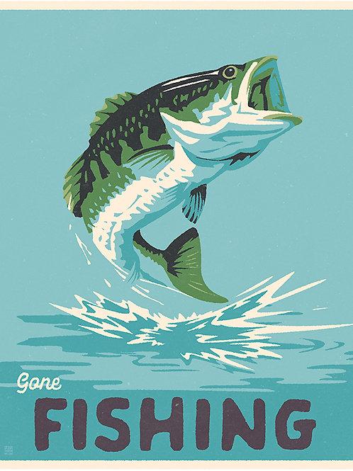Gone Bass Fishing